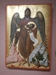Museum bij het klooster van Agios Andreas, Griekenland
