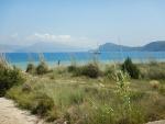 De kust bij Navarino, Griekenland