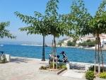 Het stadje Pylos, Griekenland