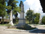 Monument voor Lord Byron in Mesolongi