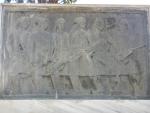 Gedenksteen in het Park van de Helden, Mesolongi, Griekenland