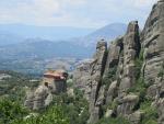 Het Roussanou klooster, Meteora, Griekenland