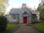 Gatelodge bij Pluscarden abdij, Schotland
