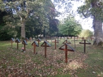 Begraafplaats bij Pluscarden abdij, Schotland