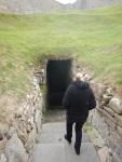Trap naar Burghead Well, Schotland