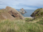 Bow Fiddle Rock bij Portknockie, Schotland