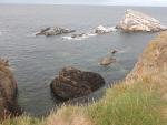 De zee bij Portknockie, Schotland
