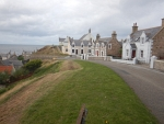 Het dorp Findochty, Schotland