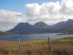 Landschap bij Loch Bad a' Ghaill, Schotland