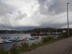 Het haventje van Lochinver, Schotland