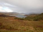 Landschap bij Drumbeg, Schotland
