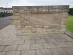 De Romeinse Bridgeness gedenksteen, Schotland