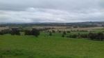 Uitzicht vanaf the house of the Binns, Schotland