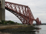 De Forth Bridge bij Queensferry, Schotland