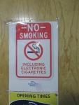 Ook geen electronische sigaretten toegestaan, Schotland