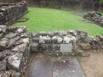 Romeins baden in Bearsden, Schotland
