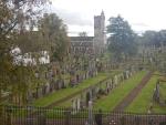 Begraafplaats in Stirling, Schotland
