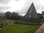 De star pyramid in Stirling, Schotland