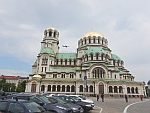 De Aleksandar Nevski kathedraal in Sofia, Bulgarije
