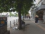 Bedelaar in Sofia, Bulgarije