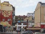 Er kan nog wel wat opgeknapt worden in het centrum van Sofia, Bulgarije