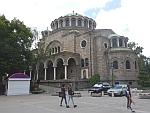 De Sveta Nedelya kathedraal in Sofia, Bulgarije