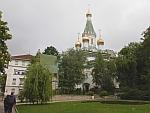 De Russisch orthodoxe kerk Sveti Nikolay Mirlikiiski, Bulgarije