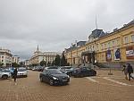 Het nationaal kunstmuseum in een oud paleis, Sofia, Bulgarije