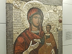 Maria met een nogal volwassen uitziend Jezus-kind, Sofia, Bulgarije
