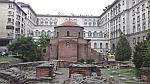 Het oudste gebouw van Sofia, de Sint-Joriskerk, Bulgarije