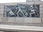 Oorlogsmonument in de Knyazheska Garden, Sofia, Bulgarije