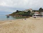 Strand in het zuidoosten van het Pilion schiereiland, Griekenland