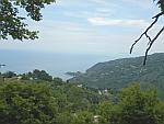 Uitzicht vanaf de Pilio berg, Griekenland