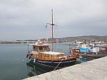 Leuk bootje in Karystos, Evia, Griekenland