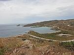 Talloze wegen in het zuidwesten van Evia, Griekenland