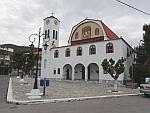 De St. Joriskerk in Marmari op Evia, Griekenland