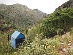De kloof naar Agios Dimitrios op Evia, Griekenland