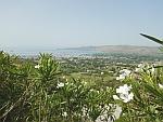 Uitzicht op Karystos, Griekenland
