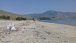 We gaan het strand opruimen, Griekenland