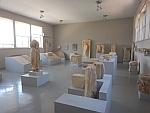 Het kleine archeologisch museum in Karystos, Griekenland