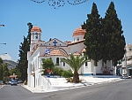 St. Nicolaas kerk in Koulouri, Griekenland