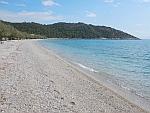 Het zogenaamde 5-sterren strand bij Kanakia, Griekenland