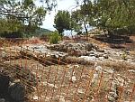 De Myceense acropolis van Ajax bij Kanakia, Griekenland