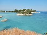 Schiereiland bij Methana, Griekenland