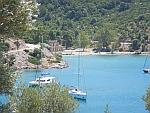 De Russische baai op Poros, Griekenland