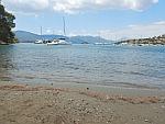 Schepen in de Russische baai, Poros, Griekenland