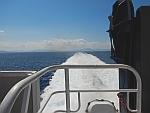 We varen van Rafina naar Andros, Griekenland