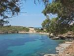 Strand bij Batsi, Griekenland