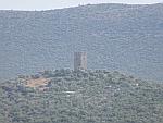 Een Frankische toren in het zuiden van Evia, Griekenland