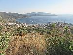 Het havenstadje Marmari op Evia, Griekenland
